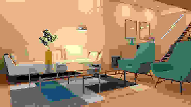 Modern Living Room by crearteinteriors Modern
