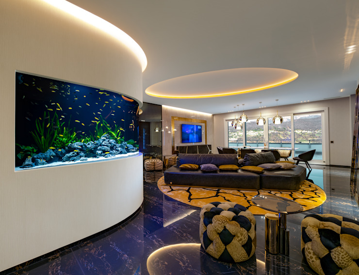 por MELIK LUXURY Aquarium Moderno