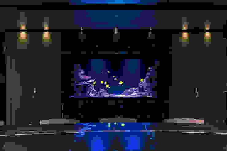 Acquario marino a parete di MELIK LUXURY Aquarium Minimalista