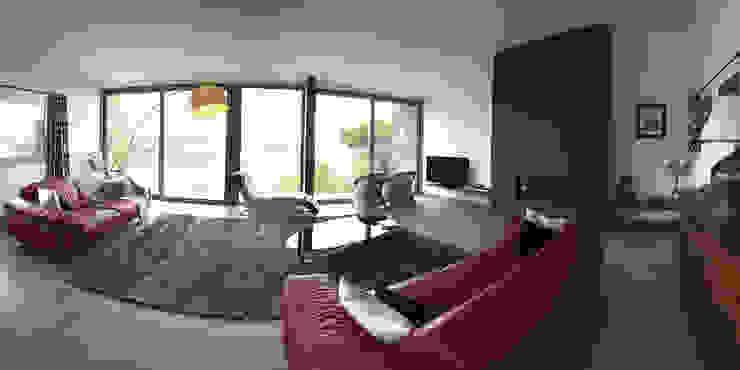 salón con vistas al mar David Rius Serra Salones de estilo mediterráneo