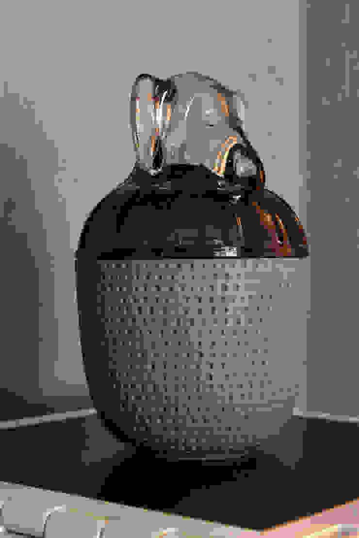 Enzo Sobocinski Arquitetura & Interiores Living room Glass Blue