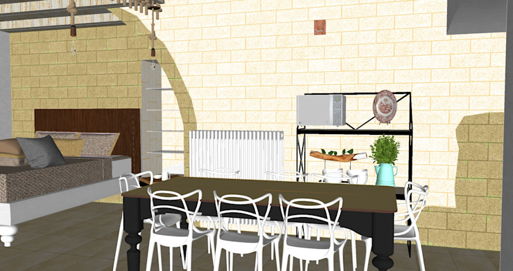 tavolo da pranzo ROSA CARBONE DESIGN Cucina moderna