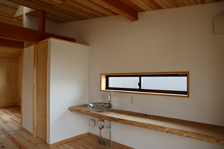 ホール 株式会社高野設計工房 北欧デザインの 書斎