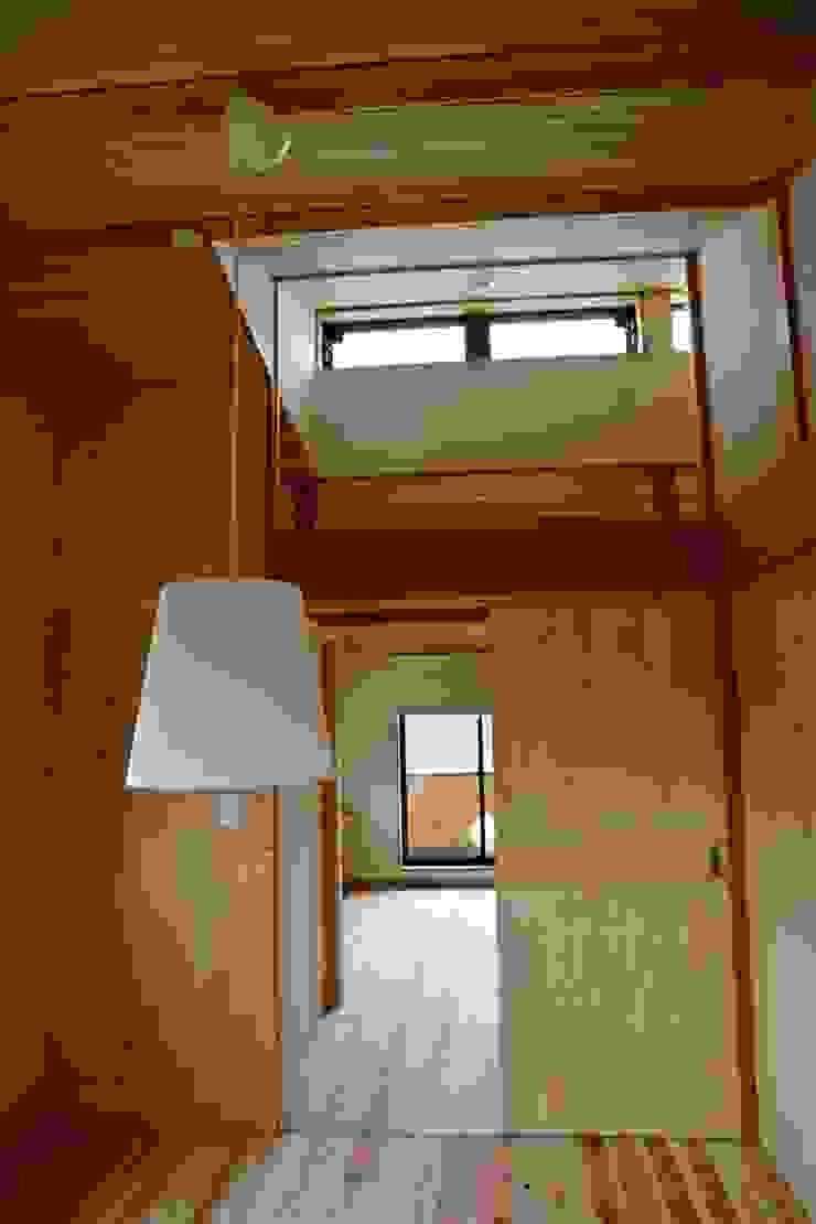 寝室 株式会社高野設計工房 北欧スタイルの 寝室