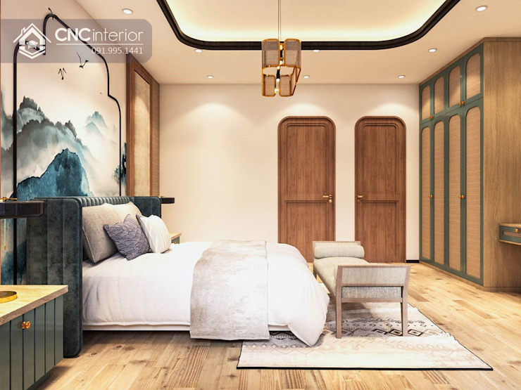colonial  by CÔNG TY TNHH NỘI THẤT CNC, Colonial Wood Wood effect