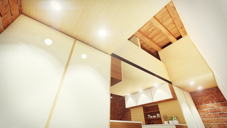 STUDIO ARCHITETTURA SPINONI ROBERTO Modern walls & floors