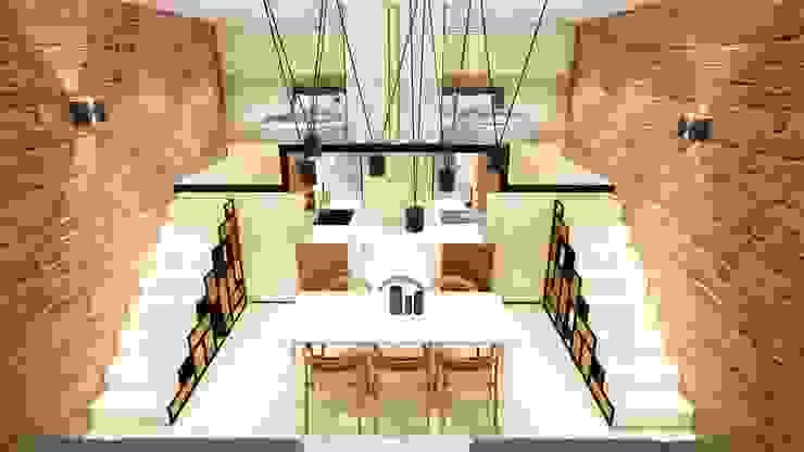 STUDIO ARCHITETTURA SPINONI ROBERTO Modern dining room