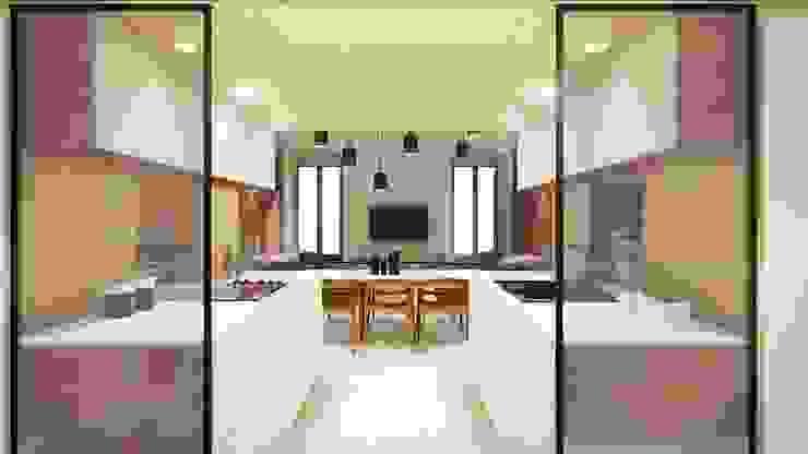 STUDIO ARCHITETTURA SPINONI ROBERTO Modern kitchen