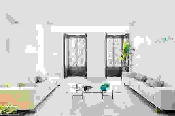 Theunissen Staging y Decoración SL Living roomAccessories & decoration Parket Beige