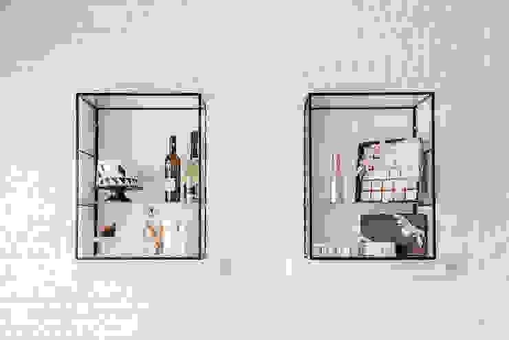 manuarino architettura design comunicazione Minimalist offices & stores Stone White