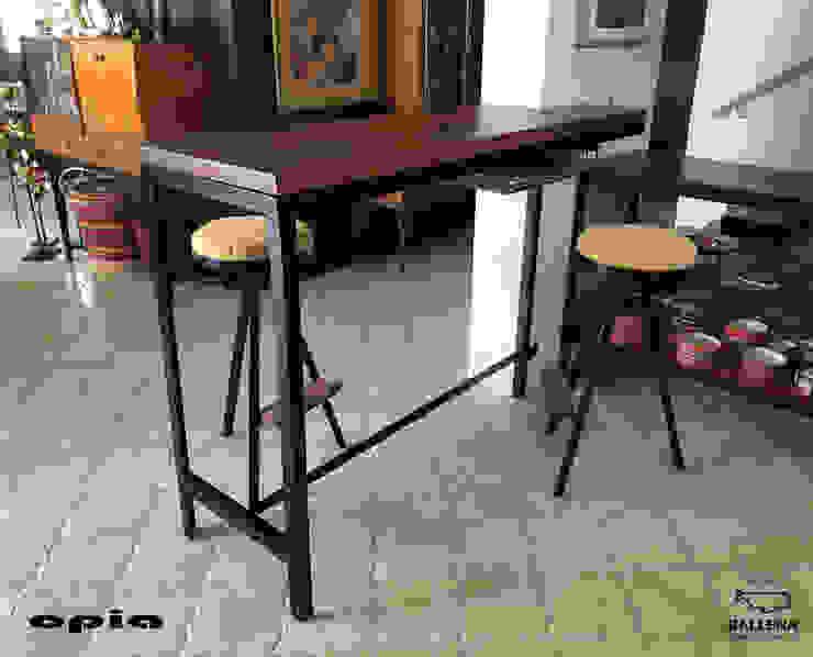 Barra de cocina Opia Diseño en Metal Muebles de cocinas Metal Negro