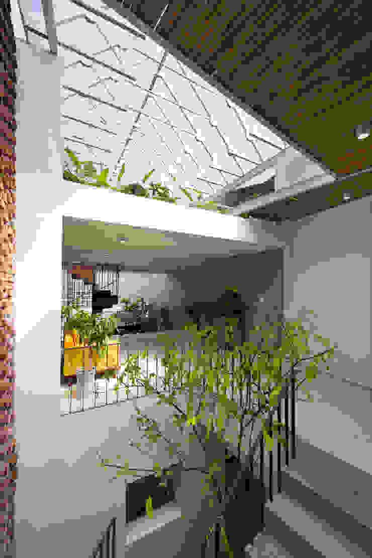 Nhà CHỒNG MÁI Phòng khách phong cách nhiệt đới bởi AD+ Nhiệt đới
