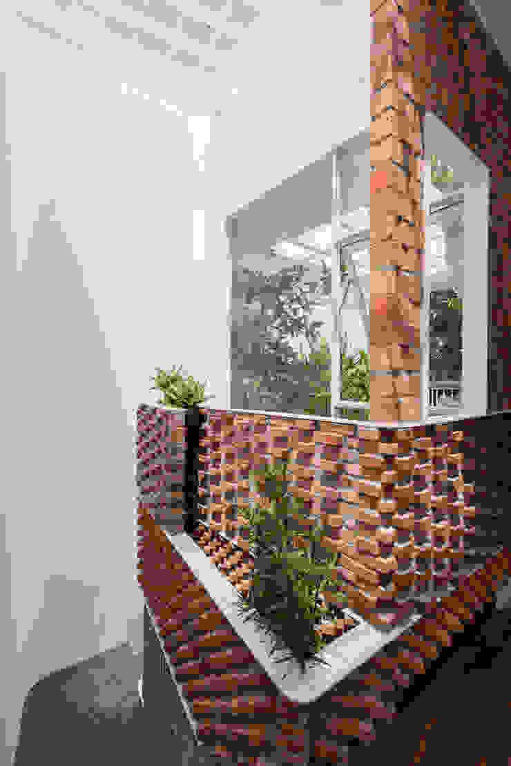 SILK house Tường & sàn phong cách nhiệt đới bởi AD+ Nhiệt đới