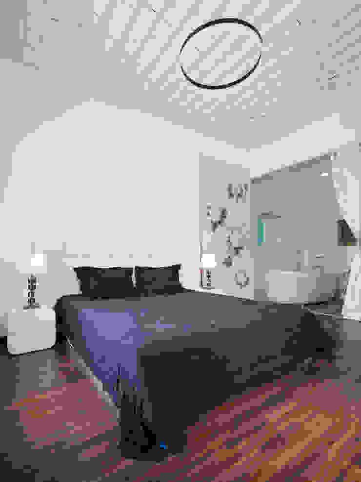 SILK house Phòng ngủ phong cách nhiệt đới bởi AD+ Nhiệt đới
