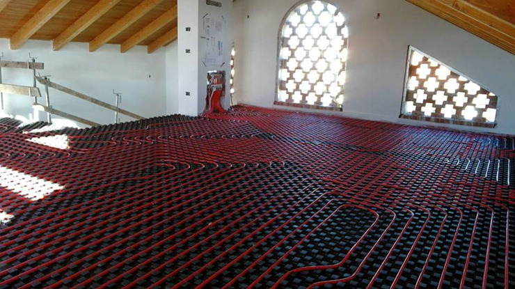 Effe Emme Termoidraulica e Condizionamento Rustic style bedroom