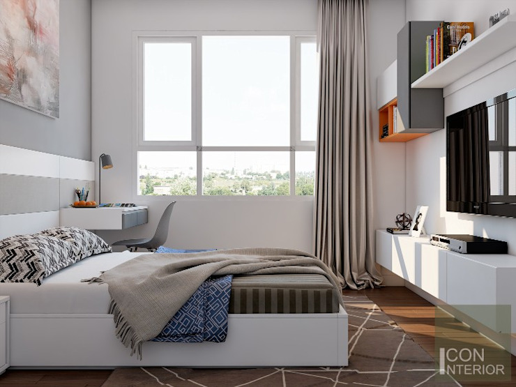 SUNRISE CITY NORTH CÔNG TY CP THIẾT KẾ NỘI THẤT ICONINTERIOR BedroomBeds & headboards