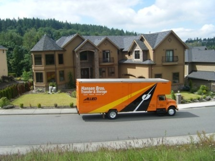 Moving companies Boise Peasley Moving & Storage Classic style dining room