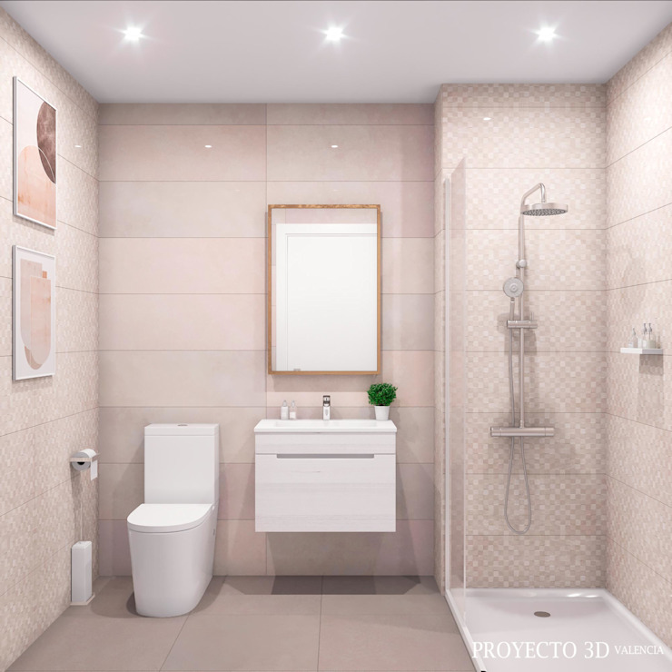 Proyecto 3D Valencia Renders Animaciones 3D Infografias Online BathroomBathtubs & showers