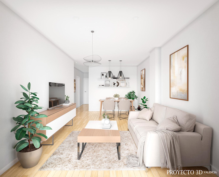 Proyecto 3D Valencia Renders Animaciones 3D Infografias Online Living roomAccessories & decoration