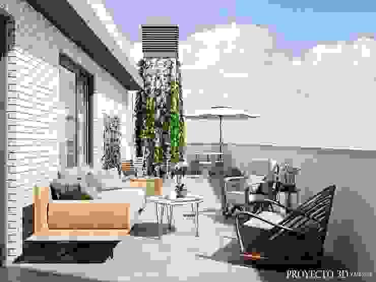 Proyecto 3D Valencia Renders Animaciones 3D Infografias Online Balconies, verandas & terracesAccessories & decoration