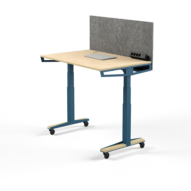 Pool22.Design EstudioEscritorios Metal Azul