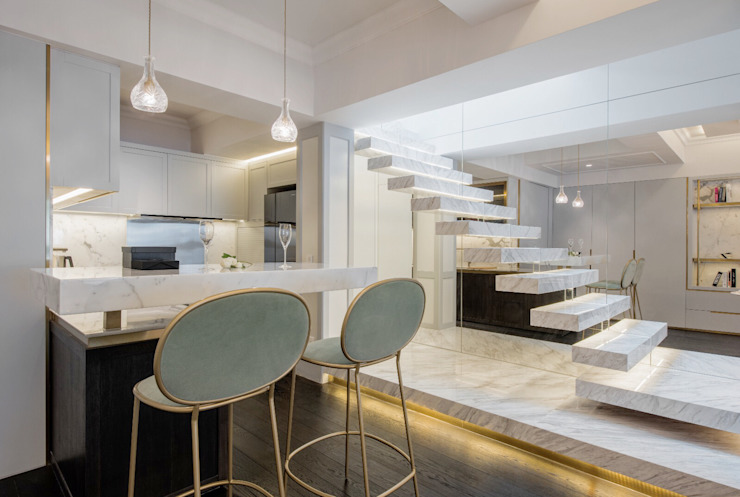 Happy Valley by Tommy Choi Design Modern Marble