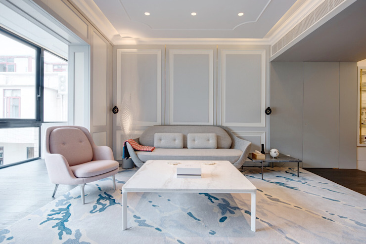 Happy Valley Modern living room by Tommy Choi Design Modern Wood Wood effect