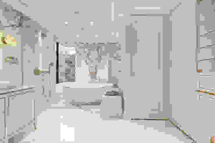 Happy Valley Modern bathroom by Tommy Choi Design Modern Marble