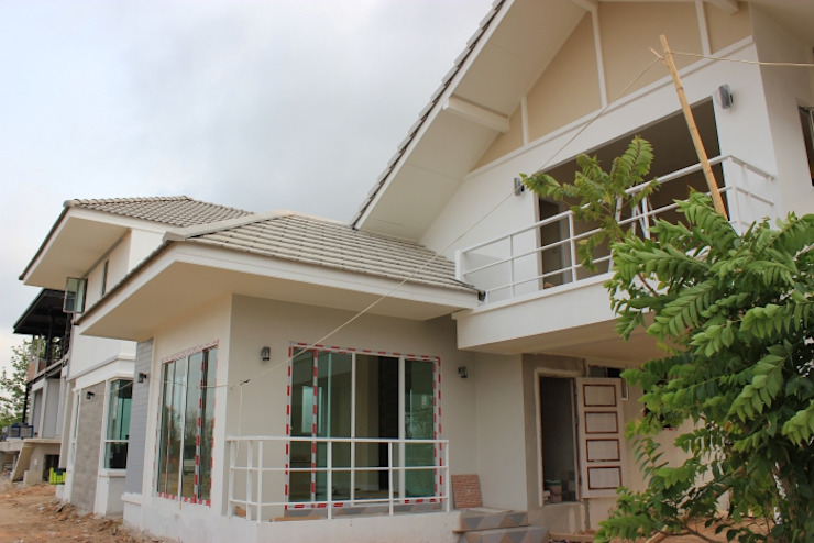 ระเบียงขาว พัฒนาที่ดิน เพื่อให้ลูกค้า สามารถเลือกซื้อที่ดินและปรับแบบบ้านได้ ก่อนการก่อสร้าง บริษัท บ้านระเบียงขาว จำกัด