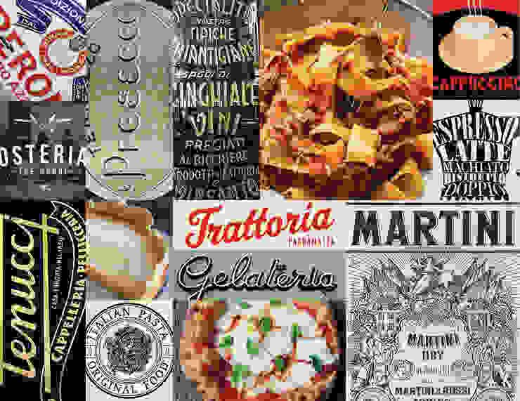hotel pucci mozarellabar food & drinks van iconic design Eclectisch