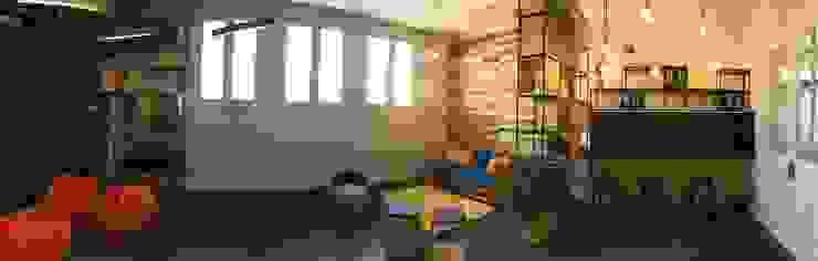 Vista Panoramica Sala Gen-E Vetas · Diseño Mobiliario Oficinas y tiendas Madera Acabado en madera