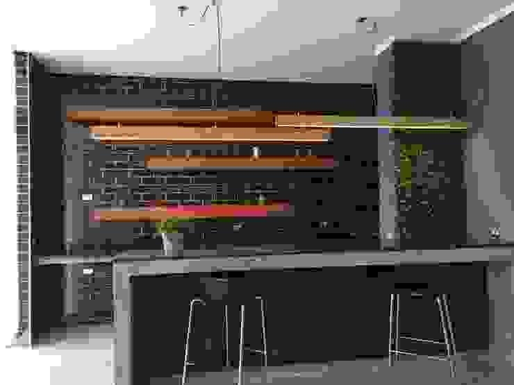 Iluminacion Lamparas de Madera Vetas · Diseño Mobiliario Livings de estilo moderno Madera maciza Acabado en madera