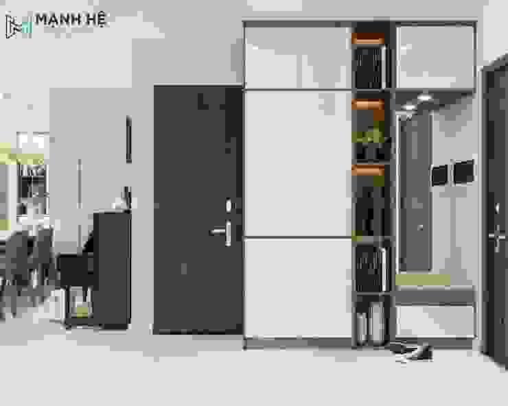 Tủ quần áo đơn giản Công ty TNHH Nội Thất Mạnh Hệ Dining roomDressers & sideboards Bê tông cốt thép Brown