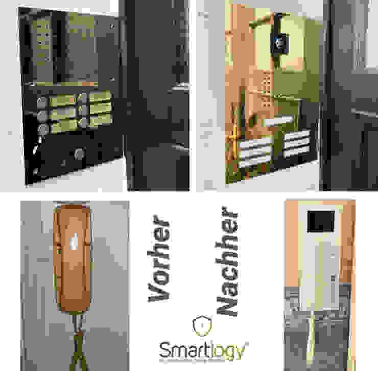 Smartlogy Sicherheitstechnik GmbH Front doors Iron/Steel Metallic/Silver
