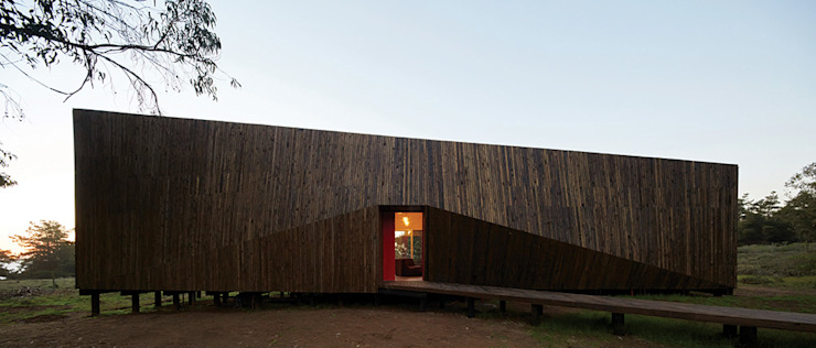 Verónica Arcos Arquitectos 木屋 木頭 Wood effect