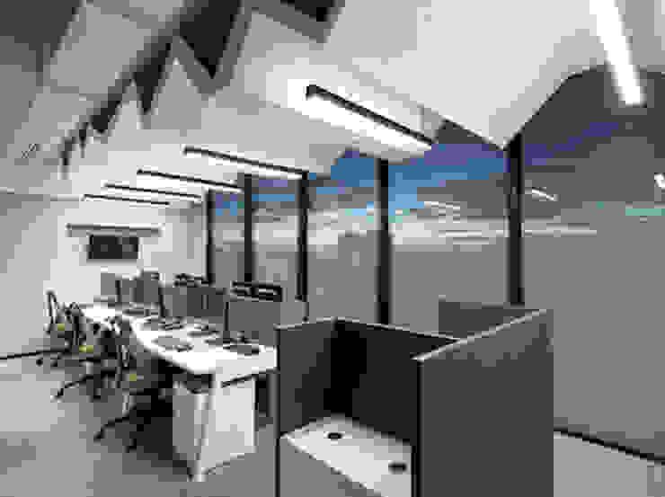 entrearquitectosestudio Modern style study/office