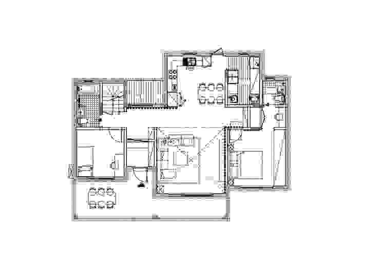 세 자매의 행복한 세 주택 서산목조주택: 위드하임의 스칸디나비아 사람 ,북유럽