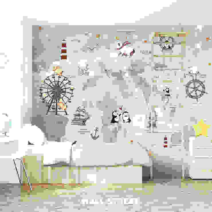 Детская комната - коллекция Funny Tour Студия Wall Street Стены и полОбои