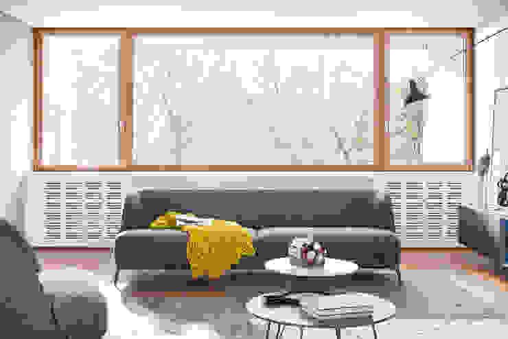 divano 1 Soggiorno moderno di L&M design di Marelli Cinzia Moderno