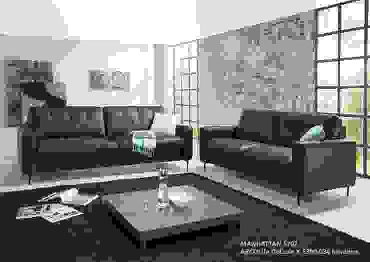 Modell soft MANHATTAN 5702: modern  von ARCO Polstermöbel,Modern