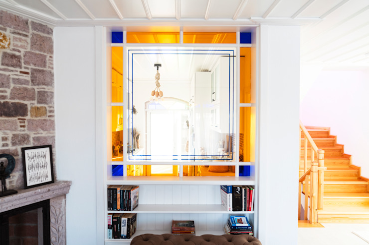 ADU Mimarlık ve Tasarım Ofisi Mediterranean style living room