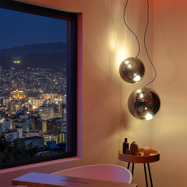 Mut zu Pendelleuchten im Badezimmer von Skapetze Lichtmacher