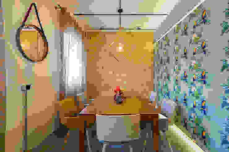 OOIIO Arquitectura Modern dining room Ceramic Multicolored