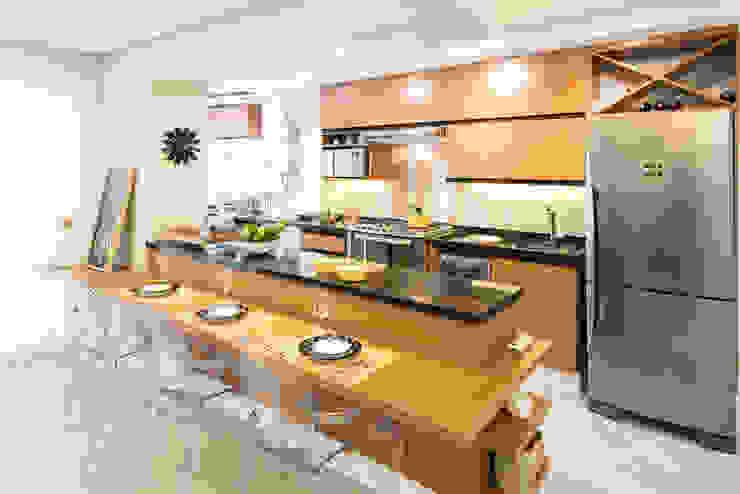 Ju Miranda Arquitetura Cocinas de estilo moderno