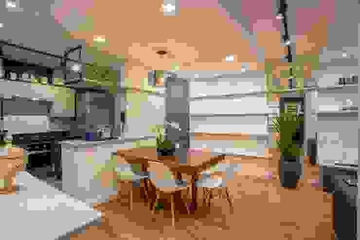 Ju Miranda Arquitetura Comedores de estilo moderno