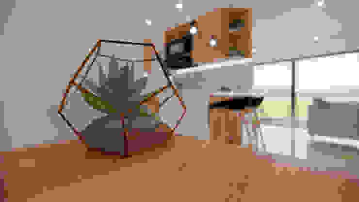 Diseño y decoración Biblioteca. Estudios y despachos de estilo moderno de DIKTURE Arquitectura + Diseño Interior Moderno Madera Acabado en madera