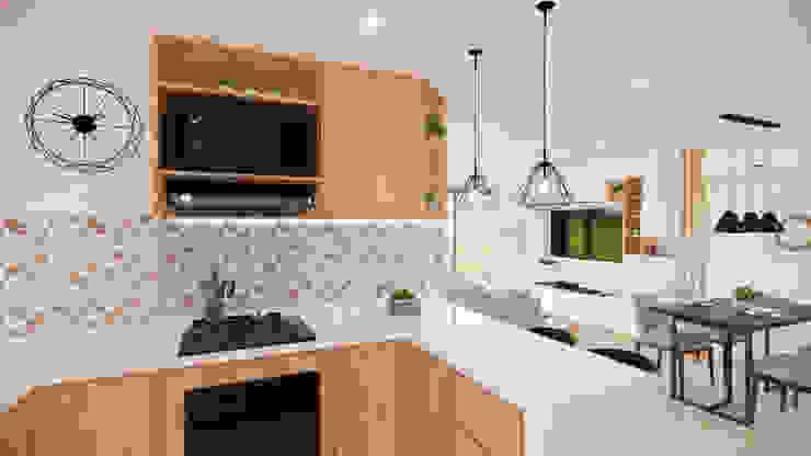 Diseño Mobiliario y decoración Cocina. de DIKTURE Arquitectura + Diseño Interior Moderno Cuarzo