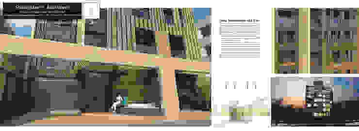 雙連街集合住宅 根據 葉蔭霖建築師事務所 隨意取材風 強化水泥