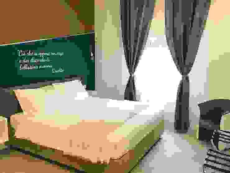 Stanza da letto_dopo Camera da letto moderna di antonio felicetti architettura & interior design Moderno Legno Effetto legno