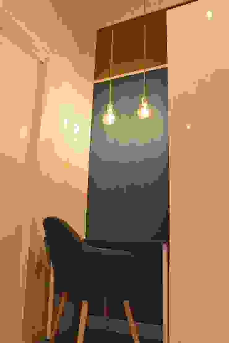 Angolo studio Studio moderno di antonio felicetti architettura & interior design Moderno Legno Effetto legno